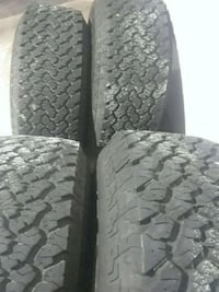 4 New Tires Grabber 35x12.50R15 wheelz (35s) Fairfax