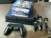 PS4 with games  500gb Round Lake Beach, 60073