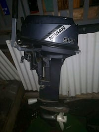 Nissan 9.9HP Outboard
