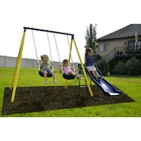 Sportspower Power Play Time Metal Swing Set Houston, 77042