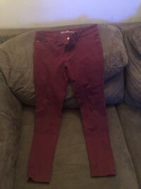 Burgundy girls jeggings New York, 11212