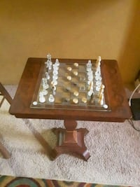 chess/checkers table opens at the top for storage  Spartanburg, 29306