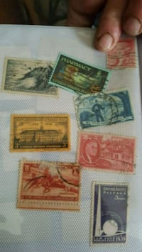 Old stamps  Canton, 28716