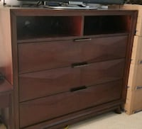 Real wood heavy chest of drawer Oakville