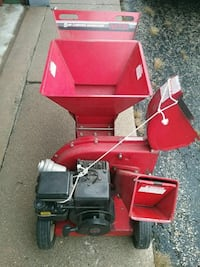 red and black snow blower 613 mi