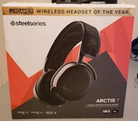 SteelSeries Arctis 7 (2019 Edition) Lossless Wireless Gaming Headset with DTS Headphone:X v2.0 Surround for PC and PlayStation 4 - Black Burnaby