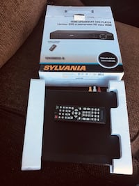 Sylviania dvd player plus controller