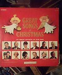 Great songs of Christmas LP by great artists St. Louis, 63125