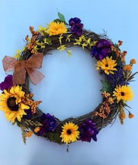 Fall wreath Burke, 22015