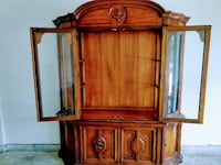 National Mt. Airy China Cabinet Woodbridge