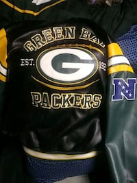 Packers Leather Jacket  Youngstown, 44507