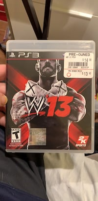 WWE 2K13 Washington, 20016