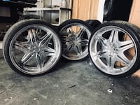 22inch rims with new tires Houma, 70364