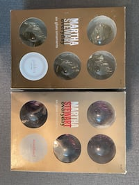 Martha Stewart 12 Count Deluxe Glass Ornaments