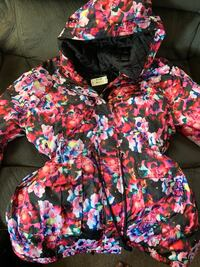 Aeropostale Beautiful Floral Winter Coat Hudson, 01749