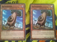 "Yugioh Cards ""Baobaboon"" Freeport"