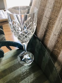 12 crystal goblets $5.00 per goblet obo Perry Hall, 21128