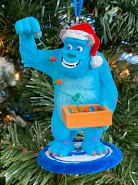 Disney/Pixar Monsters Inc. Santa Sulley Christmas Ornament