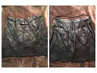 Black faux leather skirt  Sterling Heights, 48312
