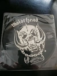 MOTORHEAD 45 RPM CITY KIDS PICTURE DISC RECORD