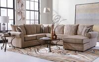 Clearance Gallery Upholstered Large Sectional Sofa & Chaise Lounge Charlotte, 28216