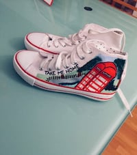One Direction shoes Size 38 ALDRI BRUKT!