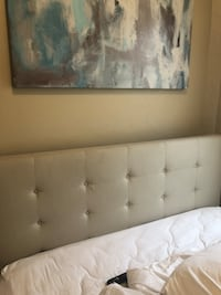 Queen bed with frame and mattress  Boston, 02127