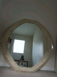 brown wooden framed wall mirror Burnaby, V5H