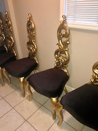 Must go today ! Royal chairs from Egypt Markham, L6E