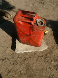 Metal Red gas container Stockton, 95205