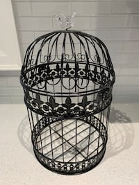 Wedding Black Birdcage Card Holder Rental - Msg for details Toronto
