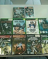 Console game collection see description and pictures