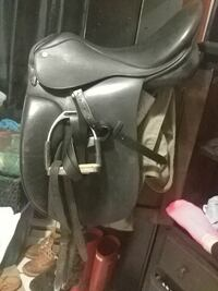 Dressage saddle package.. With or without bridle Milton