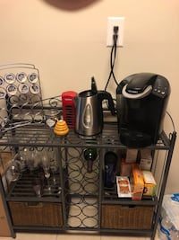 Cool Coffee Bar and Wine Rack Silver Spring, 20910