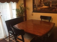 brown wooden dining table set Cambridge, N3C 4M8