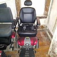 black and red power wheelchair Detroit, 48202