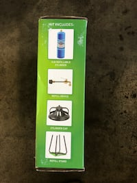 Flame King The 1 LB Refillable Cylinder + Kit Thorold