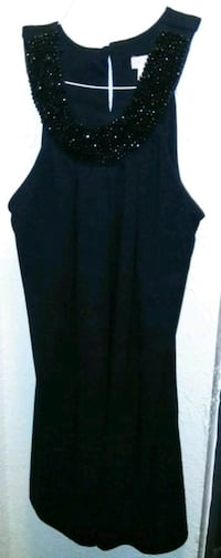 women's black sleeveless dress Abilene