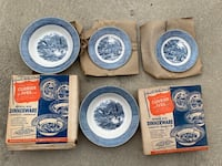 Currier and Ives dinnerware in Imperial Blue Philadelphia, 19128