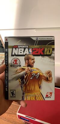 NBA 2k10 (10th anniversary Edition) for PS3