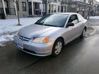 silver-colored Honda Civic sedan Markham, L6B 0N5
