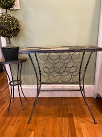 Pier One Console And Side Table