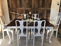 Elegant table and six chairs Port Saint Lucie, 34983