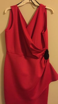 women's red sleeveless dress Alexandria, 22306