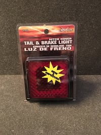 Bully Hitch Cover Tail & Brake Light NEW