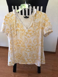 INC woman's shirt sleeve hoodie top - size 1X Fremont, 94555