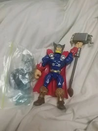Thor action figure  Barrie