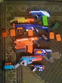 Nerf guns for sale Message for Info Toronto, M2J 1L6