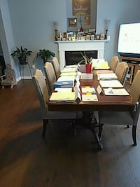 Full Dining Table and 6 Chairs