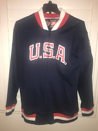 Nike throwback USA Men's Olympic basketball jacket Las Vegas, 89138